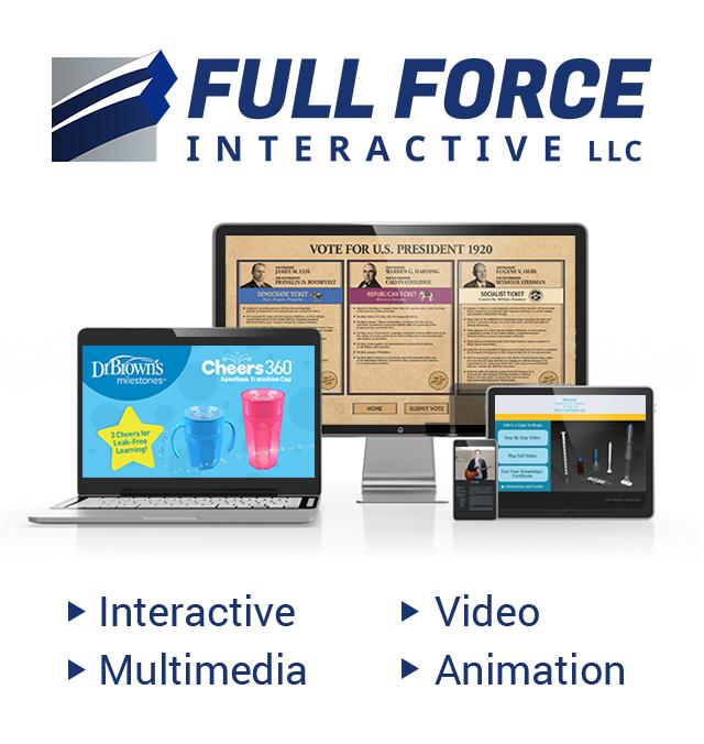 Full Force Interactive, LLC - Interactive   Multimedia   3D